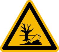 Warnschild, Warnung vor Umweltgefahr/ Verseuchung - praxisbewährt