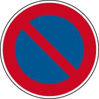 Verkehrszeichen - Eingeschränktes Haltverbot, Zeichen 286