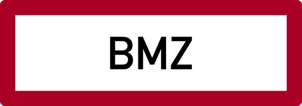 Brandschutzzeichen, BMZ (Brandmelderzentrale) - DIN 4066