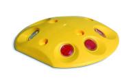Markierungsnagel oval, 25x140mm, gelb/weiß