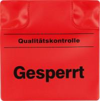 Magnetpad rot, 110x110mm, Gesperrt