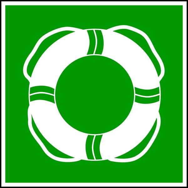 Rettungszeichen, Öffentliche Rettungsausrüstung WSE001 - ASR A1.3 (DIN 4844)