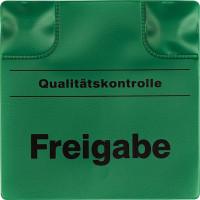 Magnetpad grün, 110x110mm, Freigabe