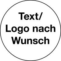 Individuelle Sicherheitsetiketten nach Wunsch, Doku-Folie, Ø 30mm - VE = 10 Stk.