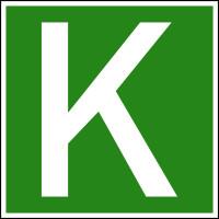 Hinweisschild, Fahrzeug im Kombinierten Verkehr, 200x200mm, Folie