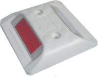 Markierungsnagel quadratisch, 20x105mm, gelb/weiß