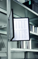 Sichttafelsystem, DURABLE VARIO® Magnet Wall, schwarz