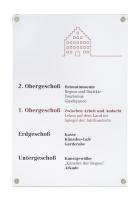 """Türschild, """"Galerie"""", <strong>200 x 130 mm</strong>"""