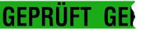 "Paketband, ""Geprüft"" - VE = Rolle à 66 m"