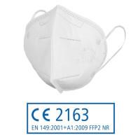 FFP2 NR Atemschutzmaske gefaltet ohne Ventil - VE = 20 Stück