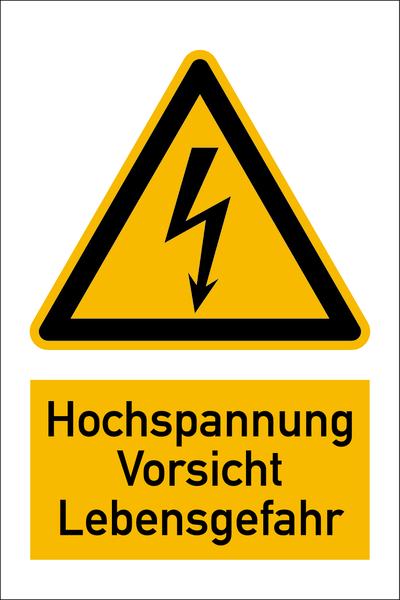 Warnzeichen Kombischilder