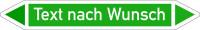 Rohrleitungskennzeichnung, Gruppe 1, Wunschtext