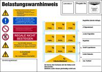 Regalkennzeichnung nach DIN EN 15635
