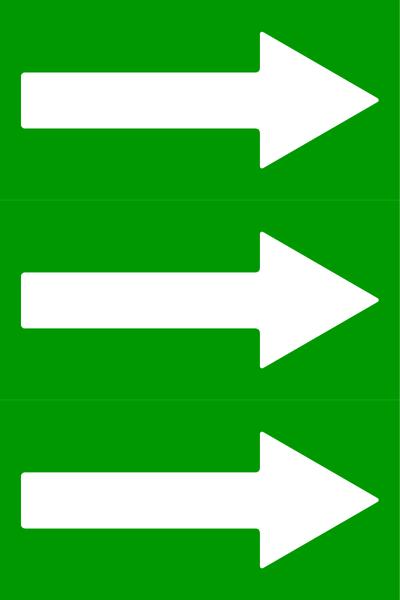 Rohrleitungen: Zusatzkennzeichnungen