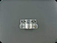 Verstärkerplatte für geprägte Schilder, Aluminium