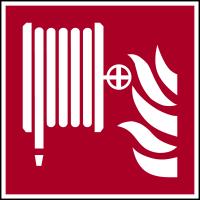 Brandschutzzeichen, Löschschlauch F002 - ASR A1.3 (DIN EN ISO 7010)