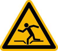 Warnschild, Warnung vor Einsturzgefahr - praxisbewährt