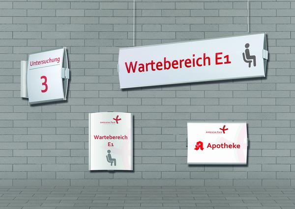 Beschilderungssystem Frankfurt