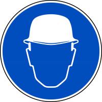 Gebotszeichen, Kopfschutz benutzen D-M002 - DIN 4844/BGV A8