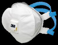 Halbmaske mit Cool Flow Ventil, 3M™, FFP2/FFP3 - VE = 10 Stück