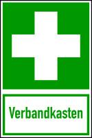 Rettungszeichen, Kombischild Verbandkasten - ASR A1.3 (DIN EN ISO 7010)