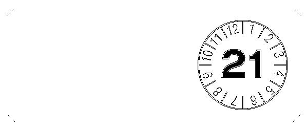 Prüfplaketten zur Kabelkennzeichnung