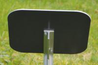 Verstärkerplatte für abgewinkelte Erdspieße
