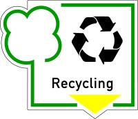 Abfallkennzeichen, Recycling, Folie