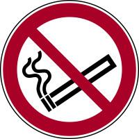 Verbotszeichen, Rauchen verboten P002 - ASR A1.3 (DIN EN ISO 7010)