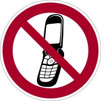 Verbotszeichen, Foto-Handy benutzen verboten - praxisbewährt