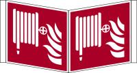 Brandschutzzeichen, Winkelschild Löschschlauch F002 - ASR A1.3 (DIN EN ISO 7010)