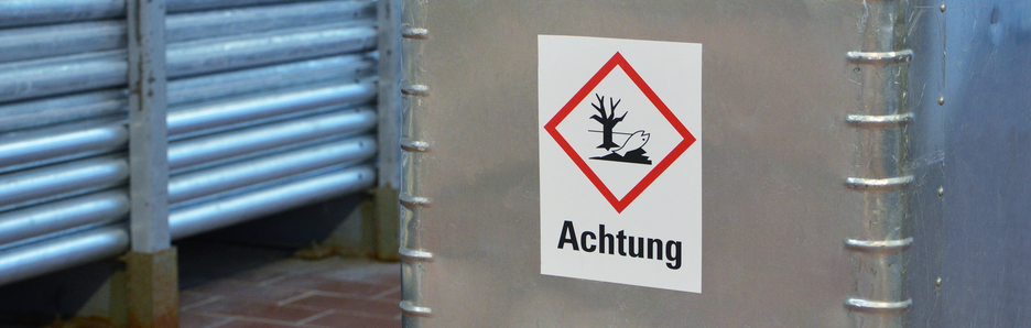 Produkte - Gefahrstoffkennzeichnung nach GHS/CLP - Signalworte
