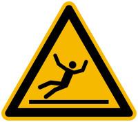 Warnschild, Warnung vor Rutschgefahr W011 - ASR A1.3 (DIN EN ISO 7010)