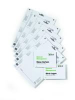 Papiereinlagen für Info- und Click Sign - VE = 20 Stk.