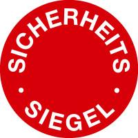 Sicherheitsetikett, Sicherheits-Siegel Ø 30mm - VE = 5 Stück