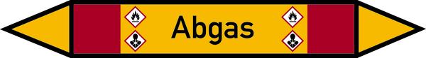 Rohrleitungskennzeichnung: Brennbare Gase