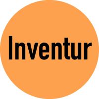 """Klebepunkte aus Papier, """"Inventur"""" - farbig - VE = Rolle à 500 Stück"""