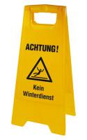 Warnaufsteller, Kein Winterdienst, 610 x 300 mm