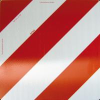 Parkwarntafel, 423x423mm, rot/weiß, retroreflektierend