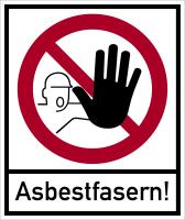 Kombischild, Asbestfasern