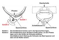 Bandschelle zur Schilderbefestigung