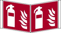 Brandschutzzeichen, Feuerlöscher Winkelschild - ASR A1.3 (DIN EN ISO 7010)