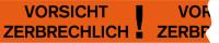 """Paketband, """"Vorsicht zerbrechlich!"""" - VE = Rolle à 66 m"""