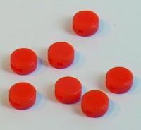 Plomben, 8mm/10mm - orange