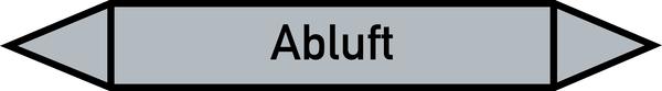 Rohrleitungskennzeichnung: Luft