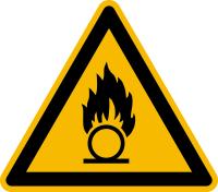 Warnzeichen gem. DIN 4844 und BGV A8