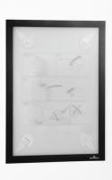 Selbstklebender Inforahmen, DURAFRAME™ WALLPAPER, DIN A4 / DIN A3