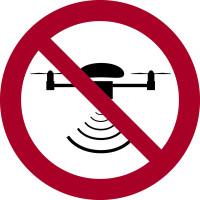 Verbotszeichen, Drohne verboten - praxisbewährt
