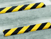 Antirutsch Treppenkantenprofil, Safety-Stair, schwarz/gelb, Edelstahl