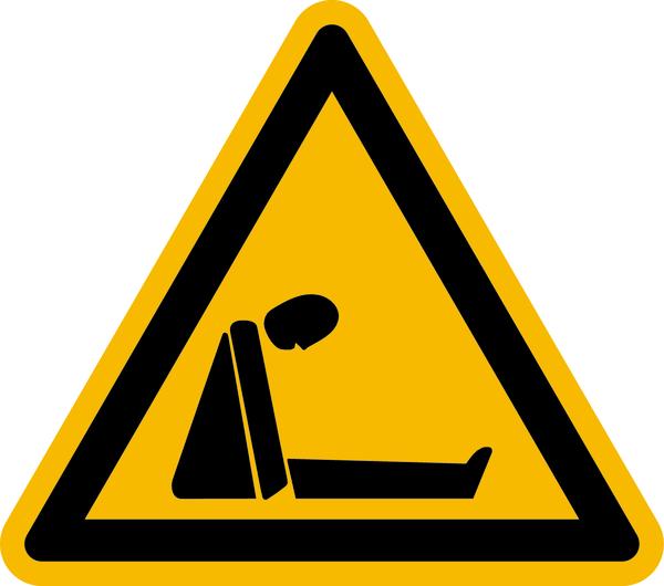Warnzeichen Warnung vor Erstickungsgefahr